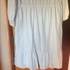 Old Navy Dresses - Old Navy Blue Stripped Dress Tall
